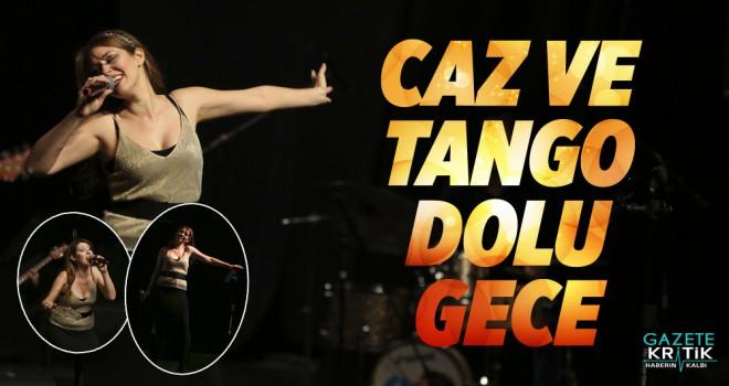 Maltepe'de caz ve tango dolu gece