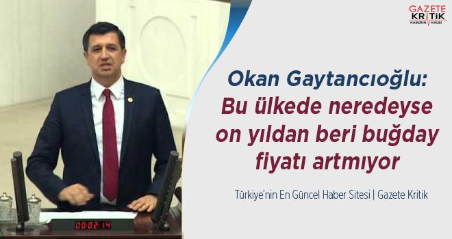 CHP'li Okan Gaytancıoğlu:Bu ülkede neredeyse on...