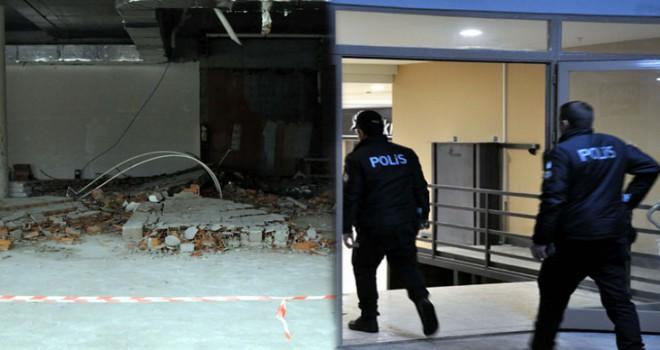Ankara'da inşaatta duvar yıkıldı: 1 yaralı
