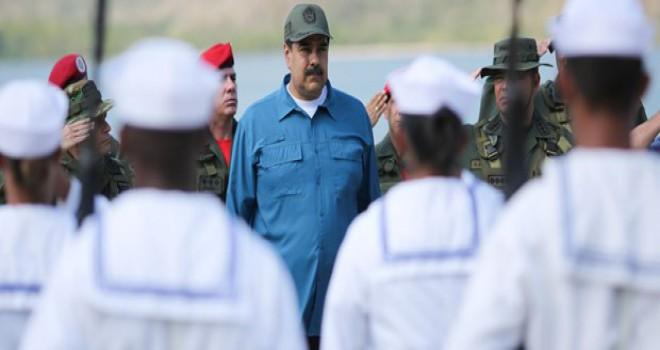 Venezuela Devlet Başkanı Maduro: Vatanımızı canımız...