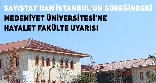 Sayıştay'dan İstanbul'un göbeğindeki Medeniyet...