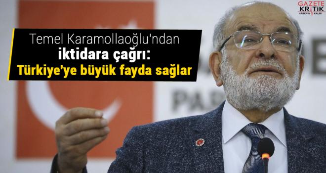 Temel Karamollaoğlu'ndan iktidara çağrı: Türkiye'ye...