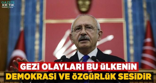 Kılıçdaroğlu: Gezi olayları bu ülkenin demokrasi...