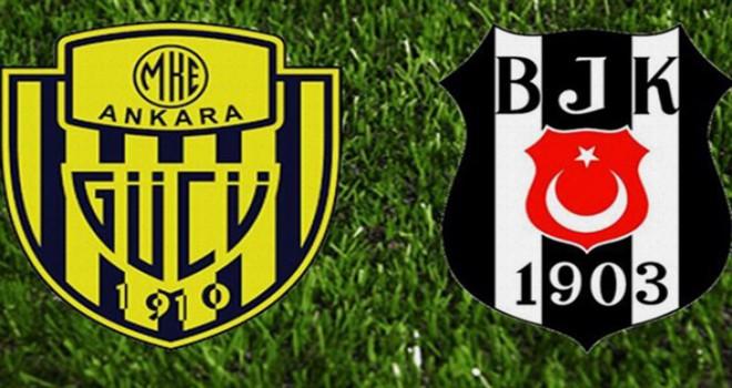 Beşiktaş'ta Pepe MKE Ankaragücü maçında forma...