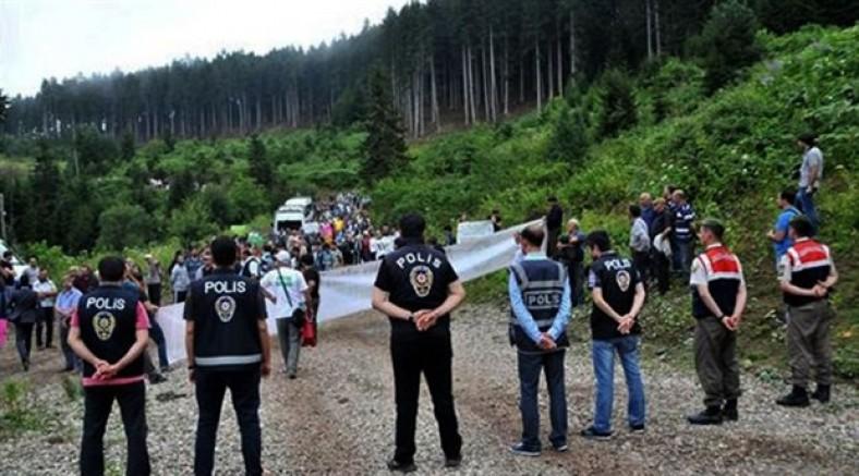 Artvin Cerattepe'de eylem yasağı 1 ay daha uzatıldı