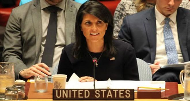ABD'nin BM Daimi Temsilcisi Haley istifa etti