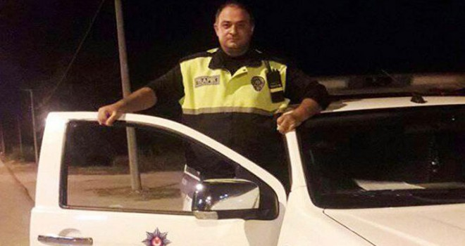 Polis memuru kalp krizi geçirip, öldü