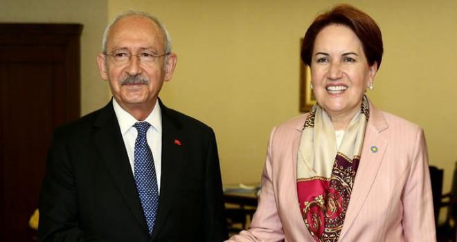 Kılıçdaroğlu ile Akşener'den, Binali Yıldırım...