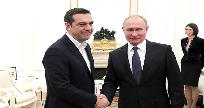 Putin: Türk Akımı Yunanistan üzerinden Avrupa'ya...