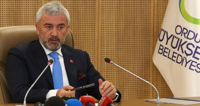 'AK Parti, Ordu Belediye Başkanı Enver Yılmaz'ı...