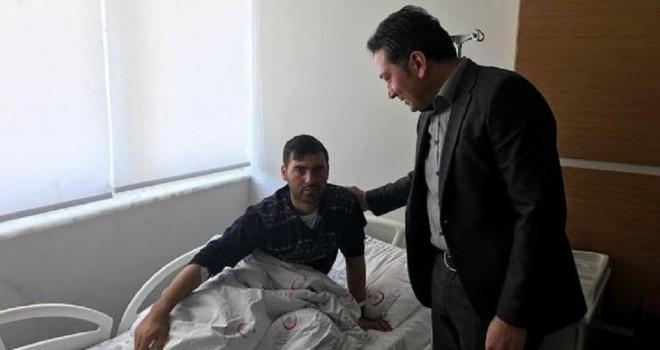 CHP'li Özgür Özel'in yakını Afrin'de yaralandı