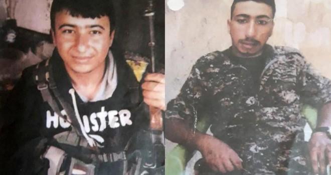 YPG'li terörist kardeşler tarlada çalışırken...
