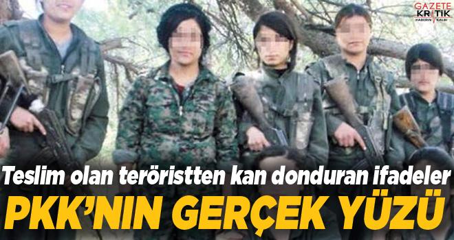 PKK'nın gerçek yüzü: Yaralı kadın teröriste...