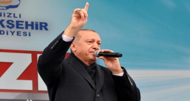 Cumhurbaşkanı Erdoğan: Nerede karalama varsa, CHP...
