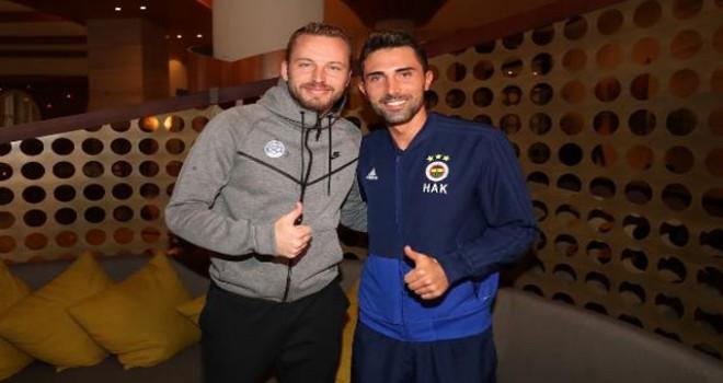 Kadlec eski takımı Fenerbahçe'yi ziyaret etti