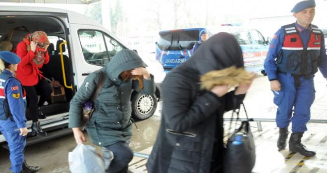 Yalova'da fuhuş operasyonu: 30 gözaltı