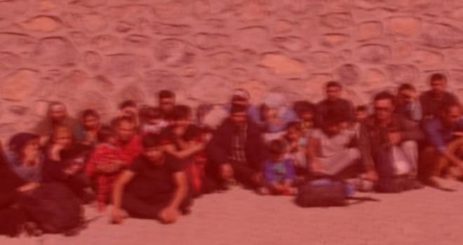 Alaçatı açıklarında 23 kaçak göçmen yakalandı