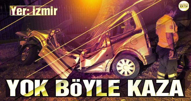 İzmir'de feci kaza! İki genç hayatını kaybetti