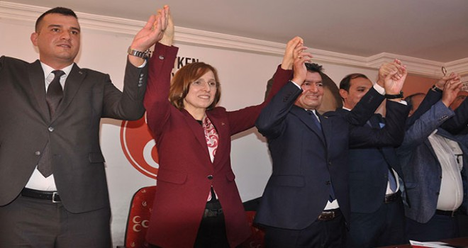 MHP'nin Aydın Büyükşehir Belediye Başkanlığı...