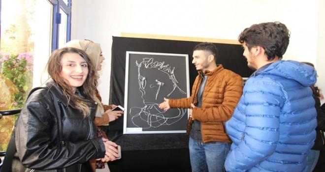 LAÜ öğrencileri tel sanatını deneyimleme şansı...
