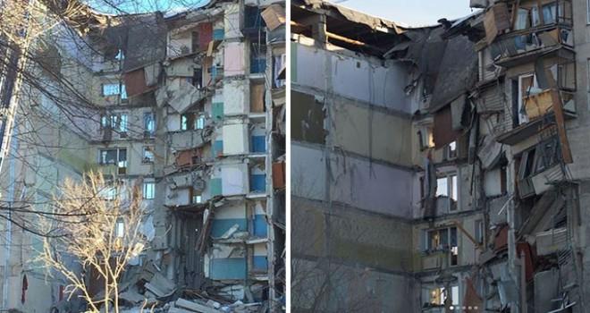 Rusya'daki çöken binada ölü sayısı 21'e çıktı
