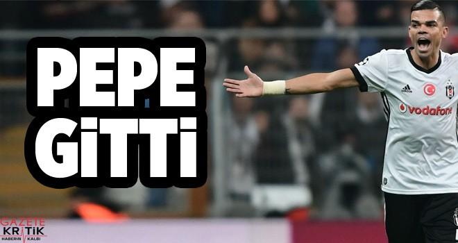 Beşiktaş, Pepe ile yolları ayırdı