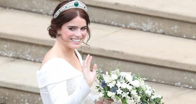 Prenses Eugenie ve Jack Brooksbank evlendi