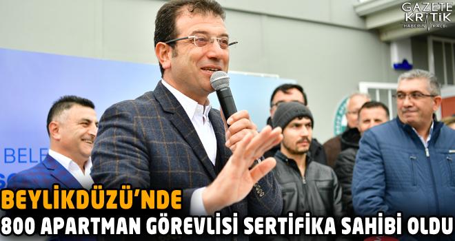 BEYLİKDÜZÜ'NDE 'APARTMAN GÖREVLİLERİ SOSYAL...