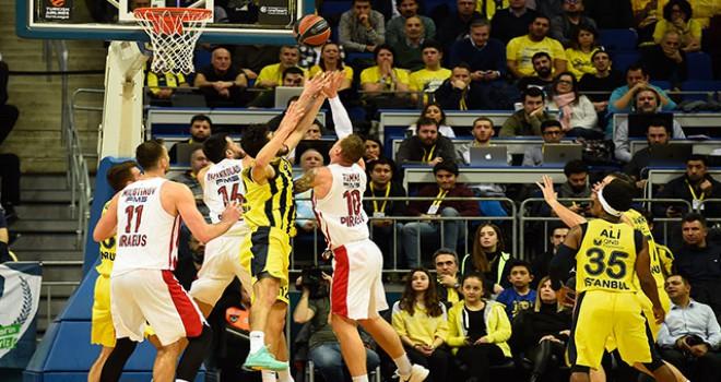 Fenerbahçe Beko - Olympiakos maçının ardından