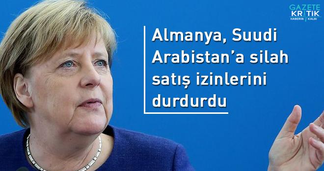 Almanya, Suudi Arabistan'a silah satış izinlerini...
