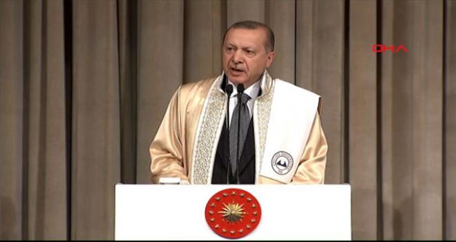 Cumhurbaşkanı Erdoğan'dan öğrencilere 1 Ocak...