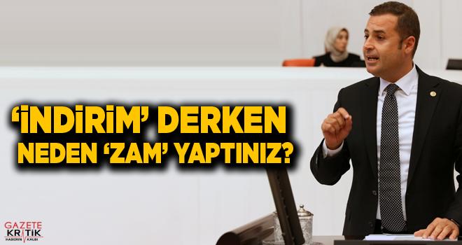 CHP'Lİ AHMET AKIN:YÜZDE 10'LUK İNDİRİMDE 'MÜJDE'...