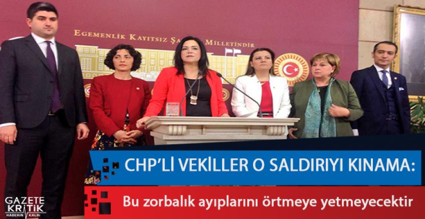 CHP: Bu zorbalık ayıplarını örtmeye yetmeyecektir