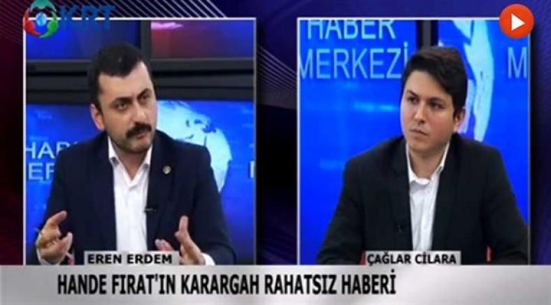 CHP'li Eren Erdem: Amaçları Erdoğan'dan sonra FETÖ'cü birini getirip devleti yeniden ele geçirmek...