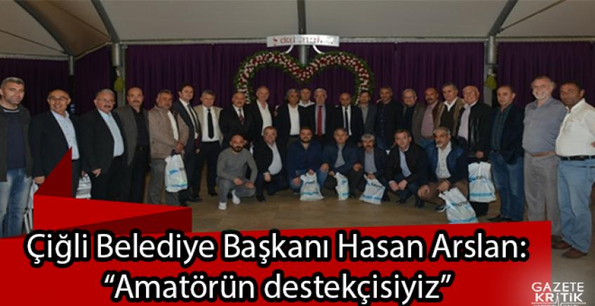 Çiğli Belediyesi'nden Amatör Spor Kulüplerine Büyük Destek