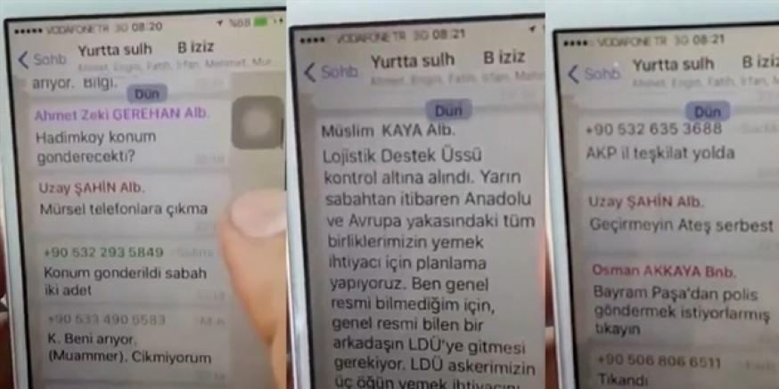 Cuntacılar 15 Temmuz gecesi 'Canavar Meclisi' adında bir başka Whatsapp grubu daha kurmuş
