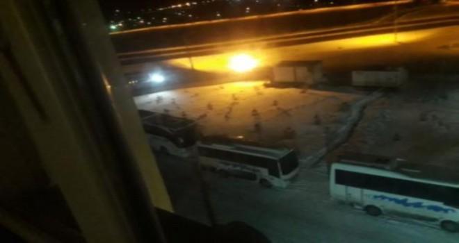Mitinge getirilen AKP'liler KYK yurdunda ağırlandı!