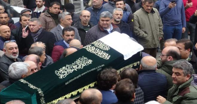 Gökhan Keskin'in babası son yolculuğuna uğurlandı