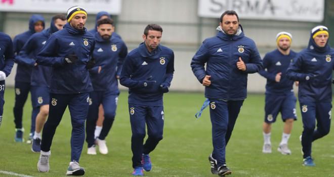 Fenerbahçe, Giresunspor maçı hazırlıklarına...