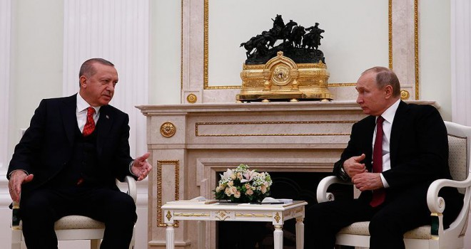 Erdoğan ile Putin görüşmesi 2 saat sürdü