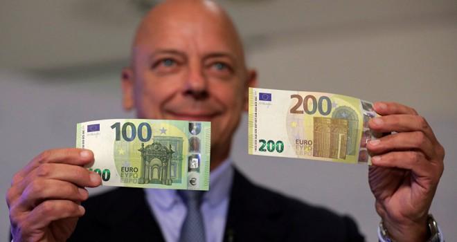 Yeni 100 ve 200 euro banknotları: Sahte parayla mücadele...