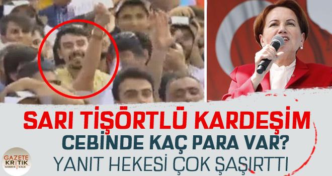 Kayseri'de Akşener izdihamı