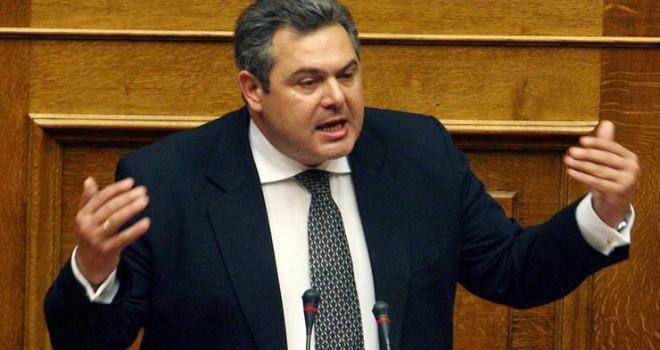 Yunanistan Savunma Bakanı Kammenos  istifa etti