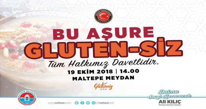 'GLUTENSİZ AŞURE' MALTEPE'DE