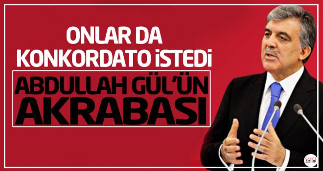 Abdullah Gül'ün akrabası da konkordato ilan etti...