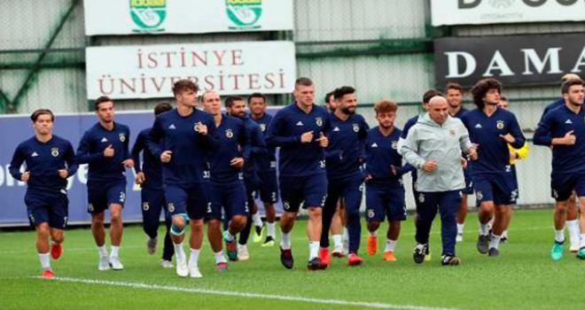 Fenerbahçe, Konyaspor maçı hazırlıklarını sürdürdü