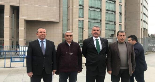 Gazetecileri ve yargıyı tehdit eden İstanbul Taksiciler...