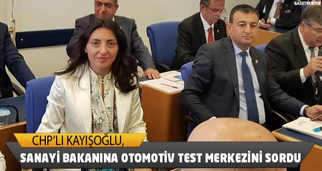 CHP'Lİ NURHAYAT ALTACA KAYIŞOĞLU ,SANAYİ BAKANINA...