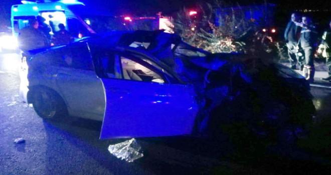 Başkan yardımcısının oğlu trafik kazasında...