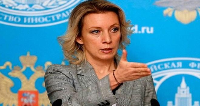 Zaharova: Önce provokasyon, ardından askeri baskı...